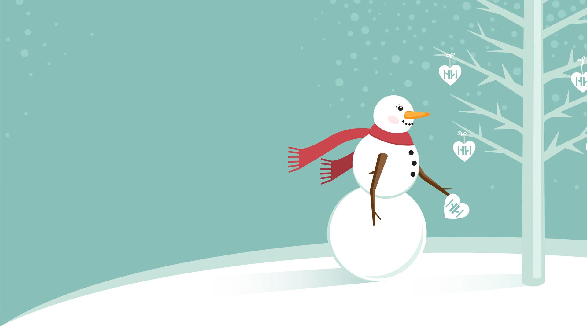 snowman winter wish