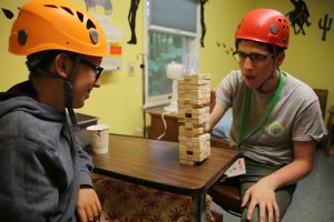 jenga with camper