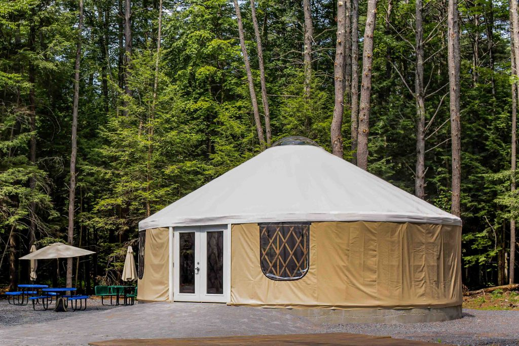 yurt at outdoor extreme