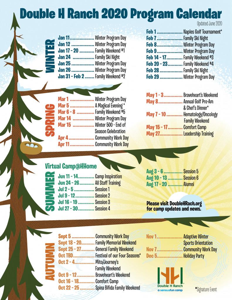 program calendar by season