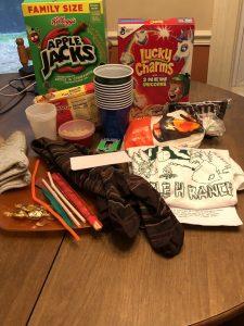 camp at home materials